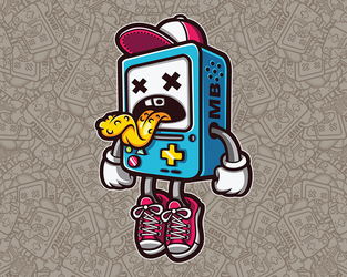 Bad BMO by Mr-InkHeart