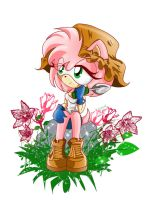 .::Amy Rose.:_Garden:. by prittyred