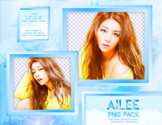 PNG PACK: Ailee by Hallyumi