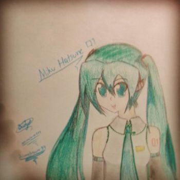 hatsune miku (re-update) by Animelover889