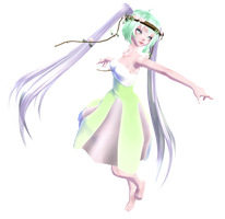 TDA Pale Pastel Miku [Download] by NEPHNASHINE-P