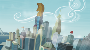 Manehatten Skyline by Abion47