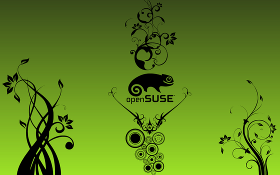 Floral openSUSE by alexbariv