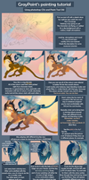 Coloring tutorial part 1 by GrayPaint