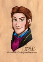 Hans Portrait by MoonchildinTheSky