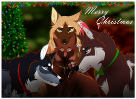 WoLF:. Merry Christmas! by Soyala-Silveryst