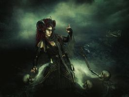 Queen of the Damned by Amaranta-G