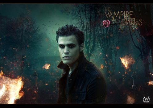 The Vampire Diaries  - Stefan Salvatore by IvanVlatkovic