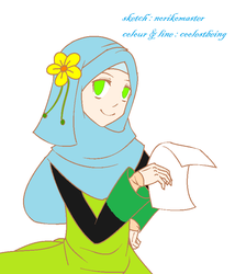 Muslimah Girl by coolestbeing