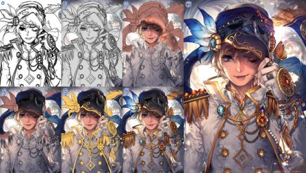 Phantom step by step by kawacy