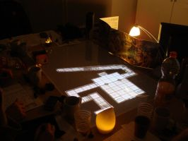 Game Table in Use 2 by zen79