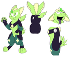 Dutch Angel Dragon: Peridot by rexyplexy