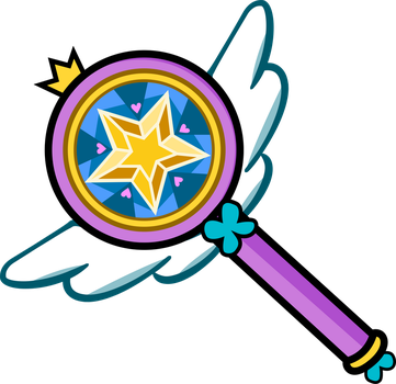 Star Butterfly Magic Wand Vector by Sparxyz