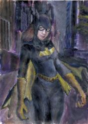 Batgirl by Sketchee