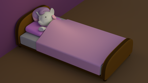 Sweetie Belle Sleeping by EDplus