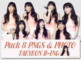 Pack PNG AND PHOTO TaeYeon Bing by hwangjungmina