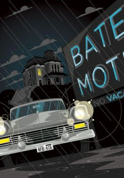 The Bates Motel by MikeMahle