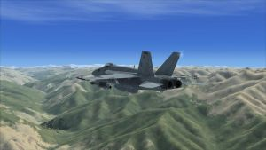 Over Afghanistan FSX by EricJ562