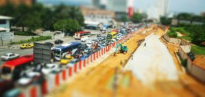 Mini City of Busy by Xilantra