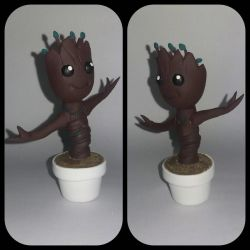 Baby Groot figure by Luan-crafts