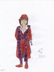 4th Doctor Who by Arak-8