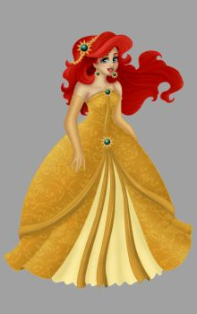 Ariel. Christmas Dress by Opal-I