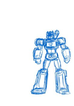 Soundwave Transforms (rough animation) by czone