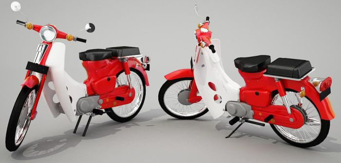 honda c 90 1968 by rahadianrahmat