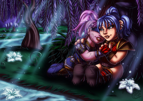 CM - Teena and Penny by LadyRosse