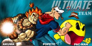 The Ultimate Fighting team by dmario