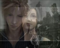 Cloud and Tifa by Crynuh