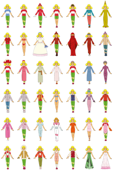 Penny Clothes Collection (Original 80's Series) by PolarStar