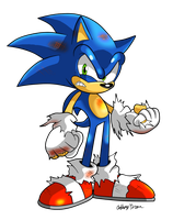 Scorched Sonic by NextGrandcross