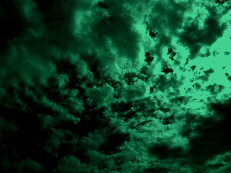 green sky by Gothicmamas-stock