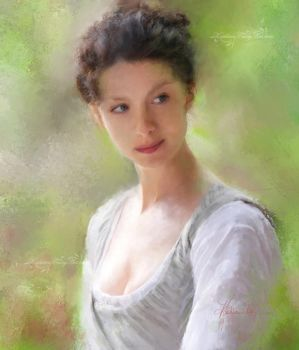 Caitriona Balfe as Claire Fraser by KathleenCasey