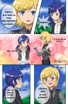 Felix x Bridgette - Mini comic parte 1 by Ahiru-Matsuki