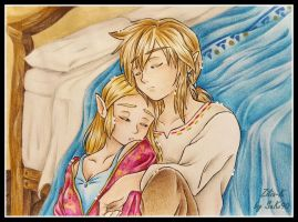 Sleep Zelink -color by zilia-k