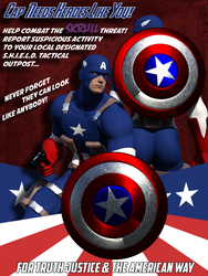 Cap Needs Heroes Like You! by CMKook-24601
