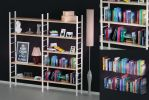 Bookshelf with books and decoration objects by DS-DNA