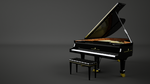 Steinway and Sons Grand Piano by bewsii