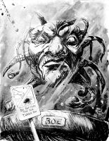 Doctor a Day: Face of Boe by justinprokowich