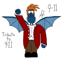 Tribute to 9-11 by DracoYoshi
