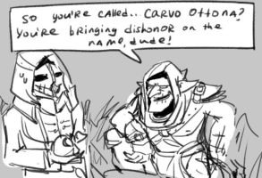 Styx: Shards of Darkness, doodles 1 by Ayej