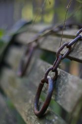 Rusted Chains by ShaunyeWest