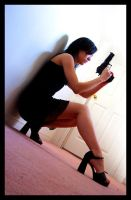 girl with the gun by an6el-of-death