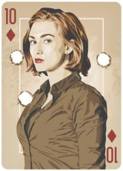 Haught - Ten of Diamonds  by ratscape