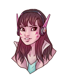 D.Va by spectre-draws