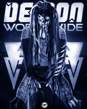 Finn Balor Demon Worldwide Poster. by CaqybKhan1334