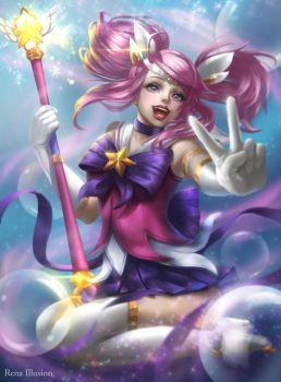 Star Guardian Lux by renaillusion