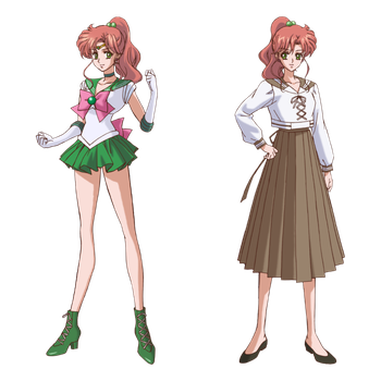 Sailor Jupiter Crystal Render by QueenLunaRiS